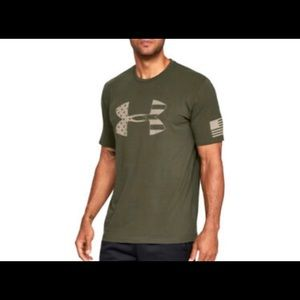 New Under Armour Freedom Logo Shirt